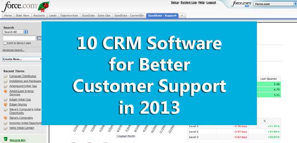 Top 10 CRM Software