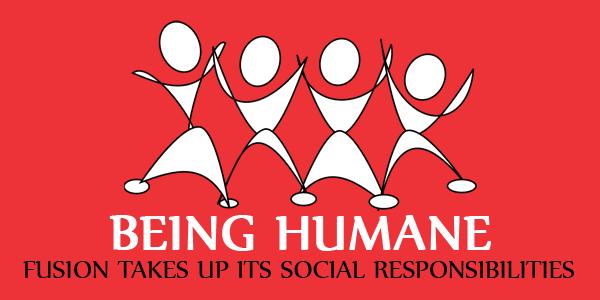Fusion Takes Up Its Social Responsibilities