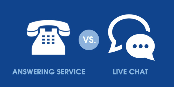 Answering Service Vs Live Chat Service
