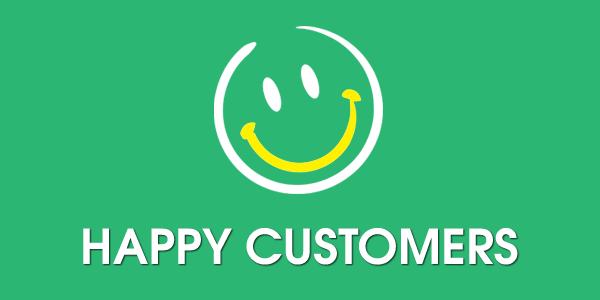 Customers Happy