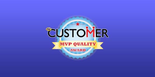 2016 MVP Quality Award Presented By CUSTOMER Magazine