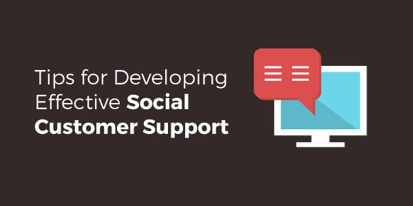 Effective Social Customer Support