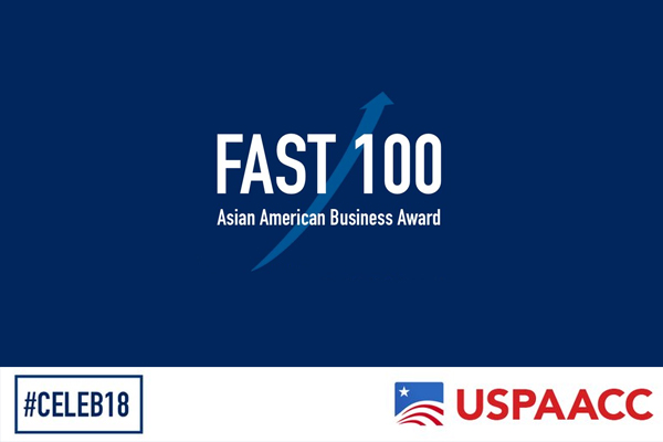 USPAACC's Fast 100 Asian American Business Awards 2018