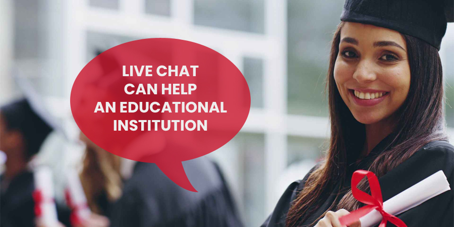 Live Chat Support Help An Educational Institution