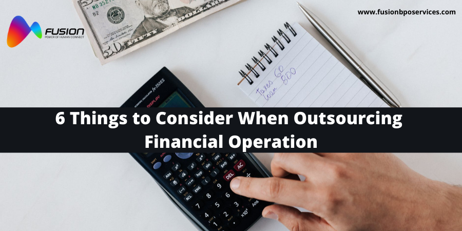 Financial Outsourcing services